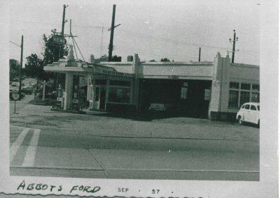 Abbotsford Sep 1957